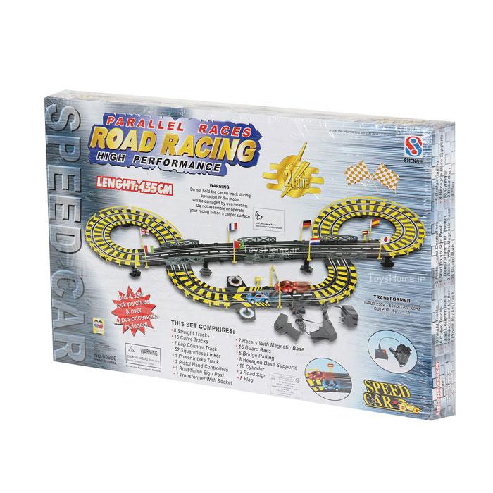 ماشین بازی با مسیر مسابقه ای