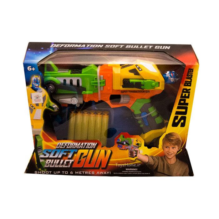 تفنگ با تیر های فومی