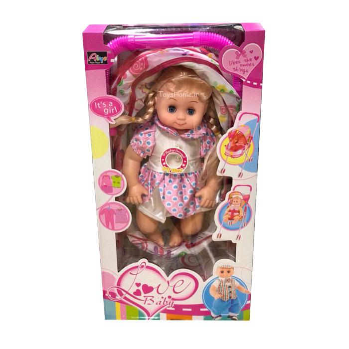 عروسک و کالسکه