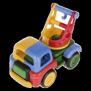 اسباب بازی آموزشی ماشین جرثقیل ساختنی Dobe