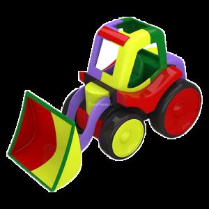 اسباب بازی آمورشی ماشین لودر ساختنی Dobe