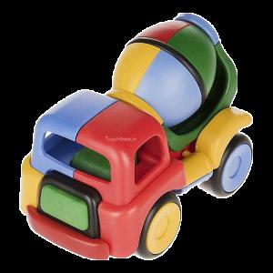 اسباب بازی آموزشی ماشین میکسر ساختنی Dobe