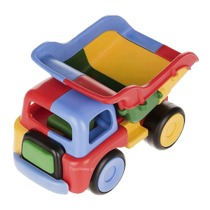 اسباب بازی آموزشی کامیون ساختنی Dobe