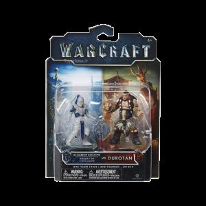 فیگور دوراتان و سرباز اتحاد warcraft