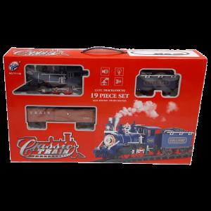 قطار اسباب بازی دودزا سری Classic Train