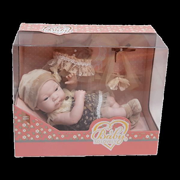 خرید اینترنتی عروسک طبیعی نوزاد