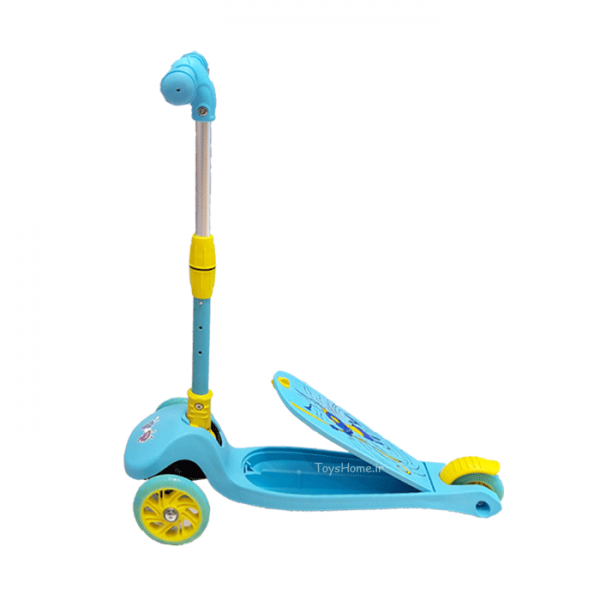اسکوتر ۳ چرخ کودک ابی