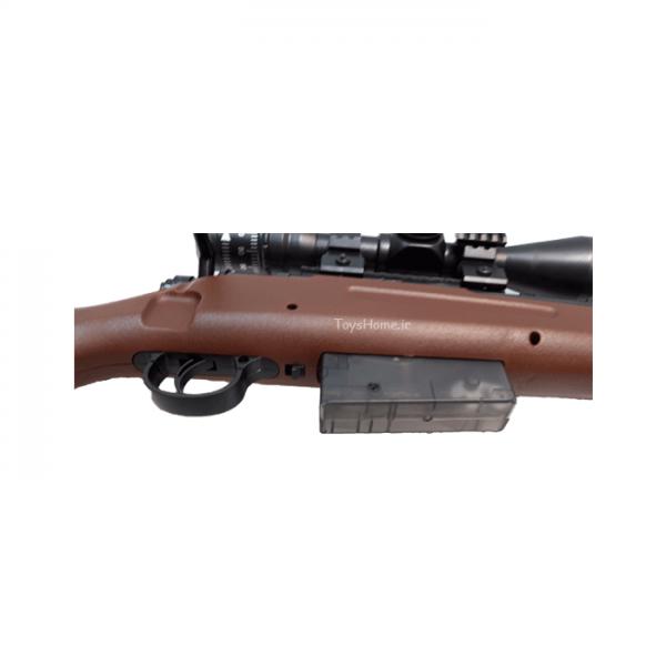خشاب تفنگ تیر ژله ای دوربین دار