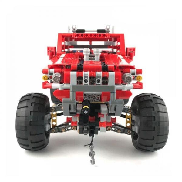 لگو تکنیک کامیون و جرثقیلdecool