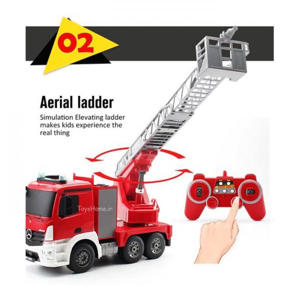 اسباب بازی ماشین آتشنشان کنترلی
