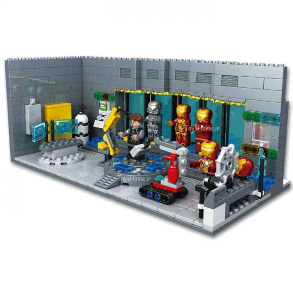 خرید لگو آزمایشگاه مرد آهنی